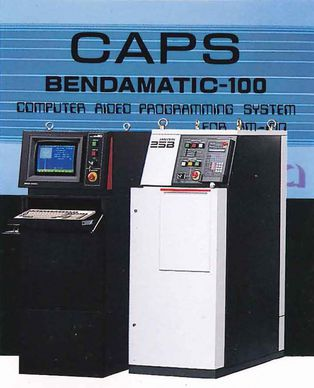 CAPS BENDAMATIC 100 - Computer Aided Programming System