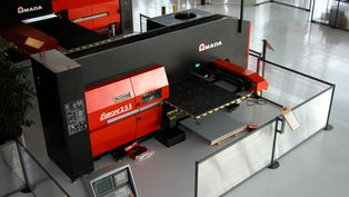 Hydraulic punching machine EUROPE 255 from AMADA