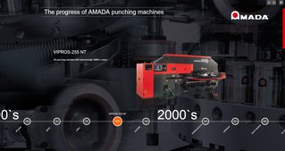 Progress of AMADA Punching Machines