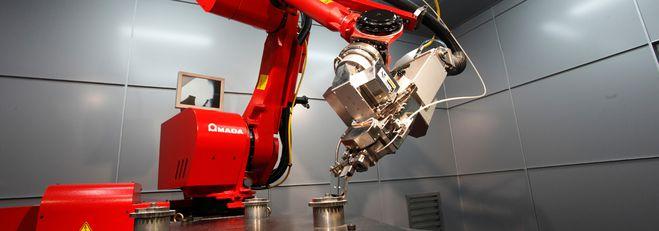 Fibre laser welding robot FLW-4000 III